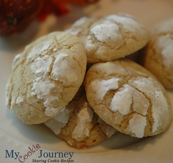Brown Butter Cinnamon Crinkle Cookies