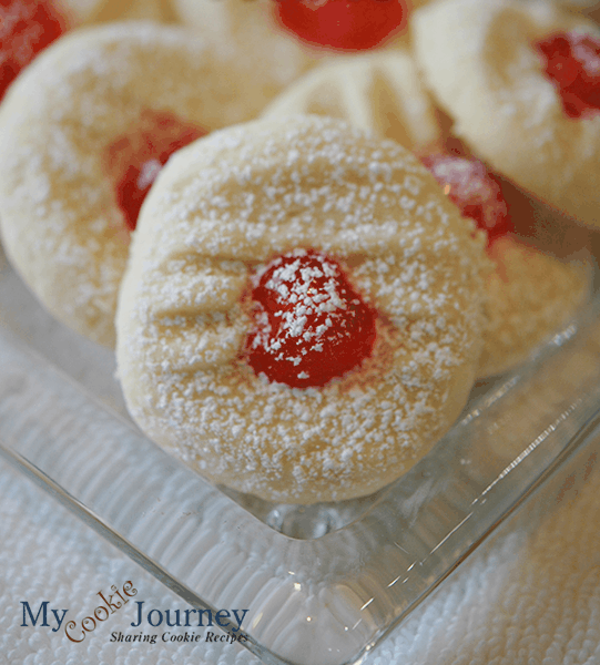 Ready for Christmas Whipped Shortbread Cookies