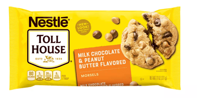 Nestle Chocolate and Peanut Butter Chips