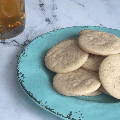 Apple Cinnamon Sugar Cookies