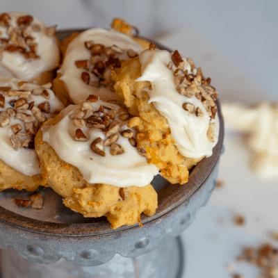 Fantastic Carrot Cake Cookies