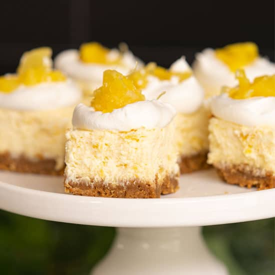 Pineapple Cheesecake Bites