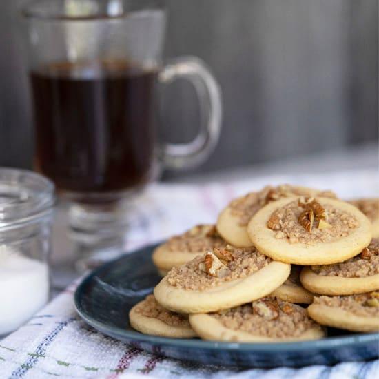 Breakfast Coffee Cake Cookies