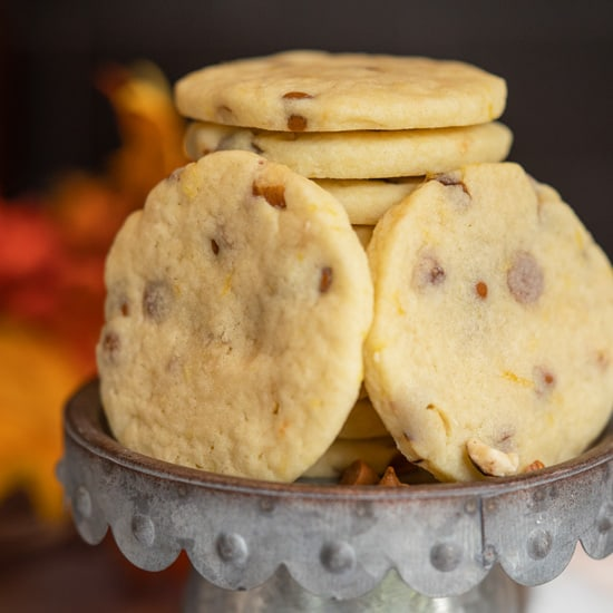 Sugar Cookies with Cinnamon Chips and Orange